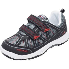 Viking Hugin Shoes Kids Black/Red